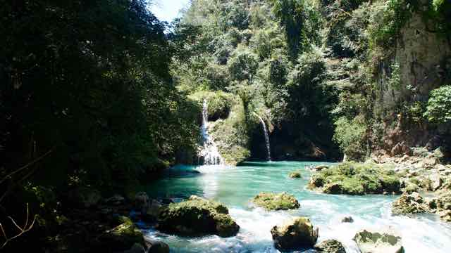 unterwegs in Semuc Champey