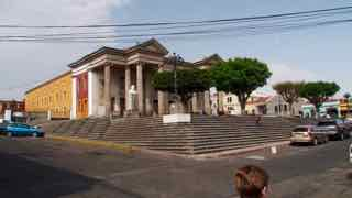 in Quetzaltanango das Theater