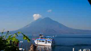 Morgen am Lago Atitlan