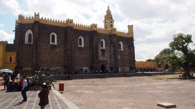 in Cholula San Francesco