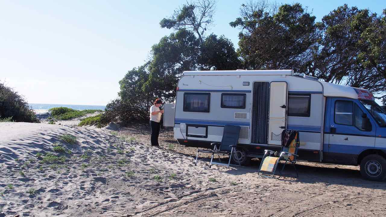 Campground in San Quintin
