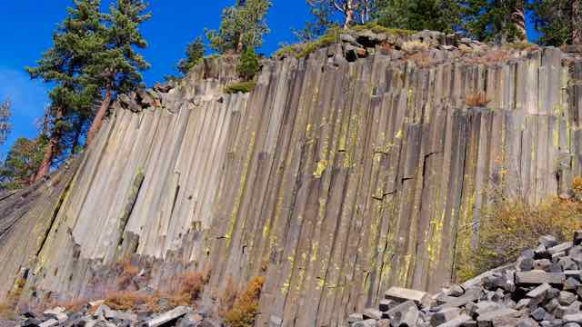 Devil Postpiles in Mammoth Lakes
