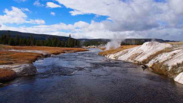 Im Yellowstone N.P.