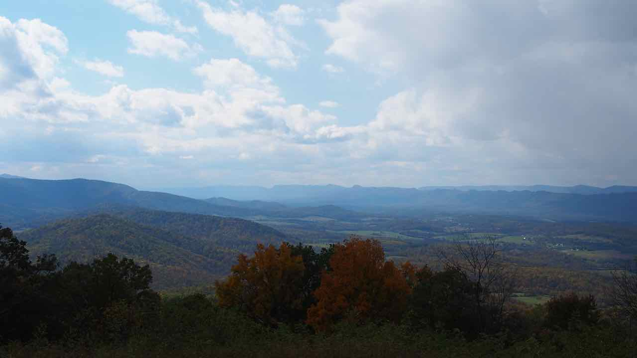 der Shenandoah Nationalpark