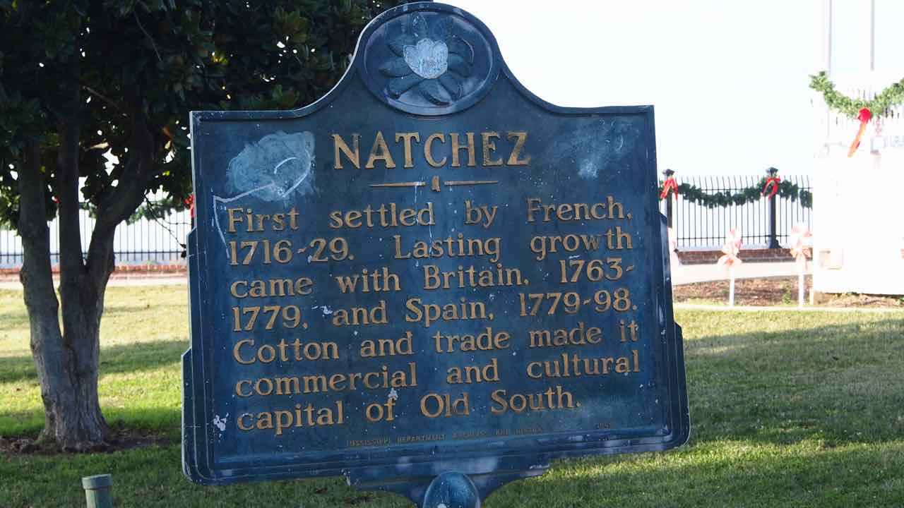 Natchez am Mississippi