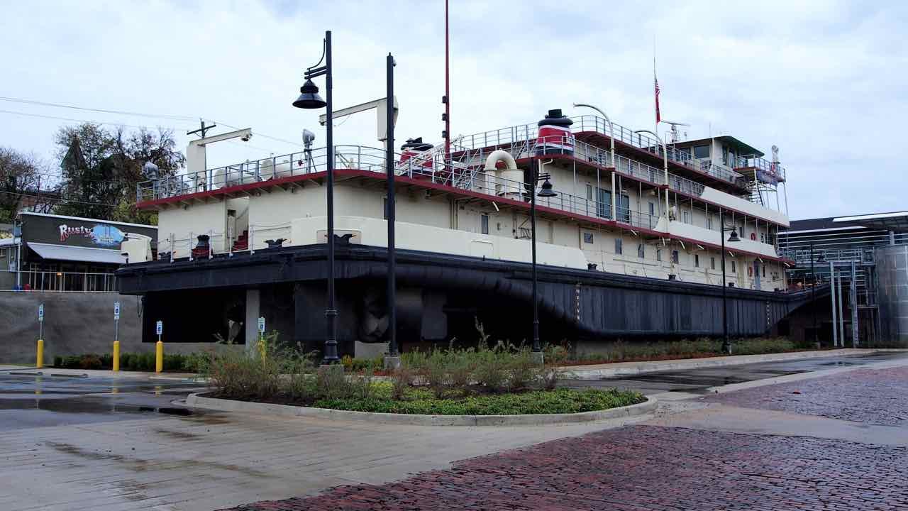 Vicksburg am Mississippi