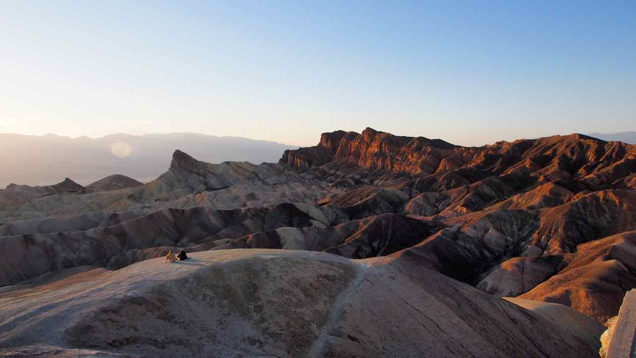 im Death Valley-am Zabriskie Point