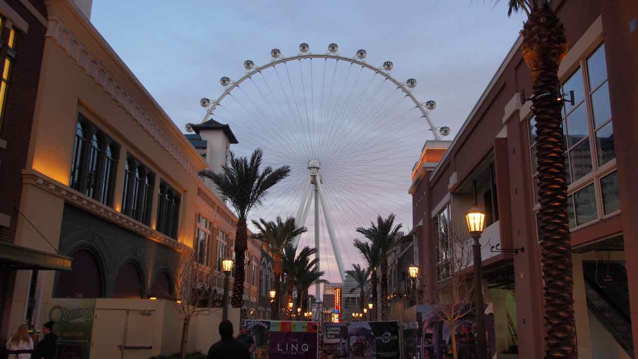 Stippvisite in Las Vegas
