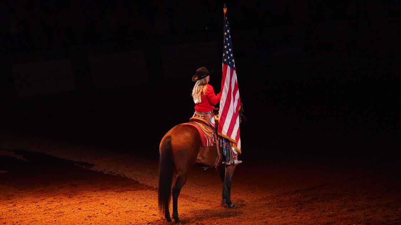 Fort Worth beim Rodeo