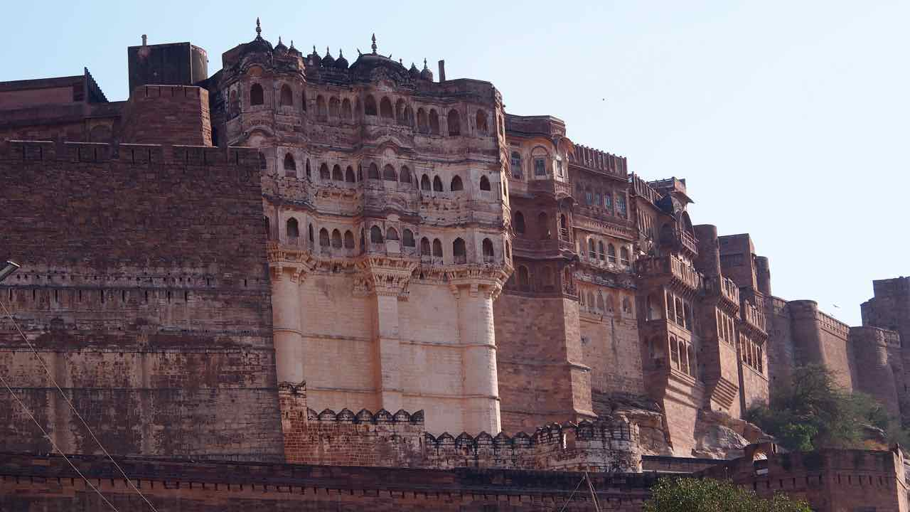 Das Mehrangarh Fort in Jodpur